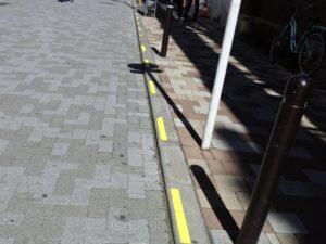 反射ライン黄